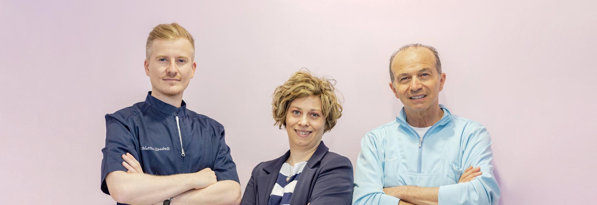 Chi siamo | Dentista a Lugo | Studio Bordini Quadrelli
